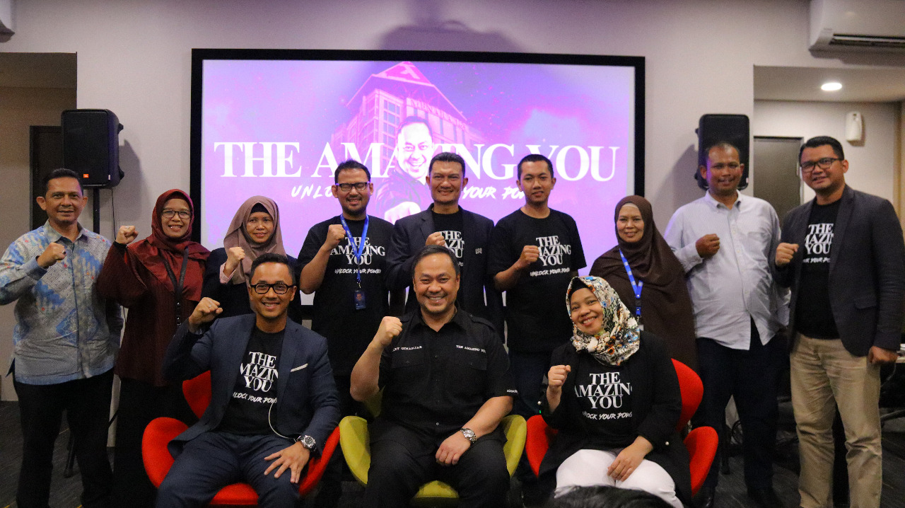 "Training ""The Amazing You, Unlock Your Power"" Masterpiece Akhir Tahun dari ESQ Leadership Center"